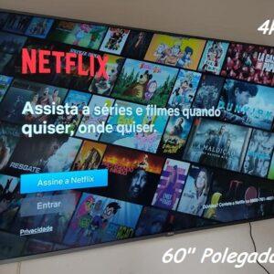 "Smart TV 4K LED 60"" Philco PTV60F90DSWNS – Wi-Fi HDR 3 HDMI 2 USB"