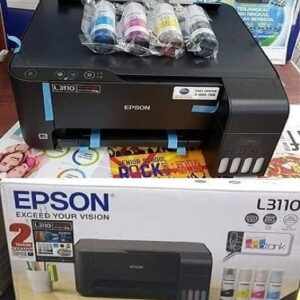 Impressora Multifuncional Epson EcoTank L3110 Tanque de Tinta Colorida USB – Bivolt