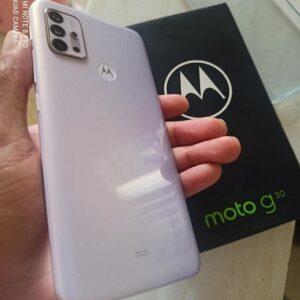"Smartphone Motorola Moto G30 128GB 4G – 4GB RAM Tela 6,5"" Câm. Quádrupla 64MP + Selfie"