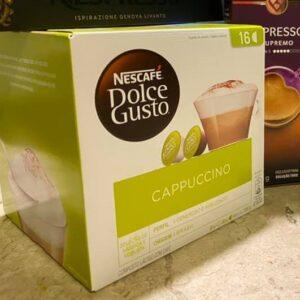 Capsulas Nescafé Dolce Gusto Cappucino – 16 cápsulas