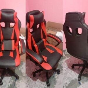 Cadeira Gamer Nell Preta e Vermelha Nell100