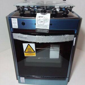 Fogão 4 Bocas Brastemp Clean de Embutir Inox Timer Acendimento Automático – Bivolt