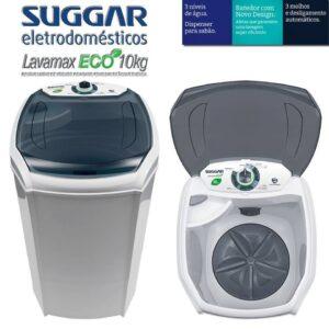 Tanquinho Semiautomático Suggar 10Kg – Lavamax Eco – 110v/220v