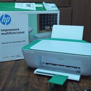 Impressora Multifuncional HP DeskJet Ink Advantage – 2376 Jato de Tinta Colorida – Bivolt