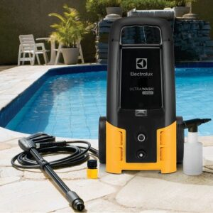 Lavadora deAltaPressãoUltra Wash Electrolux 2200PSI com Bico Turbo e Engate rápido – 110v/220v