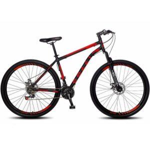 Bicicleta Colli Bike Freio a Disco com 21 Marchas e Aro 29 quadro e guidão em Aço carbono