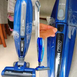 Aspirador de Pó e Água Vertical Wap Sem Fio – 14,8VDC Acqua Mob Azul e Cinza – Bivolt