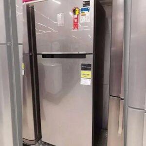 Geladeira/Refrigerador Samsung Frost Free Inverter Duplex Inox Look 385L PowerVolt Evolution – Bivolt