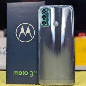 Smartphone Motorola Moto G60 128GB Azul 4G Tela 6.5″ Câmera Tripla 108MP + Selfie 32MP Android 11