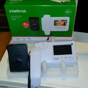 Vídeo Porteiro com Monofone Intelbras IVR 1010 Preto/Branco