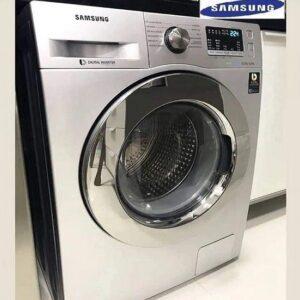 Lava e Seca Samsung 11kg Inox 12 Programas de Lavagem c/ painel digital e função EcoBubble – 110v/220v