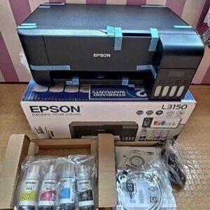 Impressora Multifuncional Tanque de Tinta Epson EcoTank L3150 Wireless – Impressora, Copiadora, Scanner – Bivolt