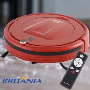 Robô Aspirador de Pó Britânia 18W com controle remoto