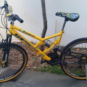 Bicicleta Colli Bike GPS Aro 26 21 Marchas – Dupla Suspensão Quadro de Aço Freio V-Brake