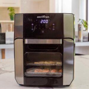 Fritadeira Britânia Oven 2 em 1 Forno e Air Fry, frita e assa sem engordurar – 110v/220v