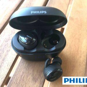 Fone de Ouvido Bluetooth Philips TAT1215BK/97 – Intra-auricular com Microfone Preto