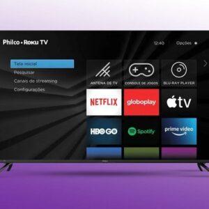 Smart Roku Tv Philco 32″ Led Com Resolução Hd. Áudio Dolby
