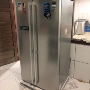 Geladeira/Refrigerador Midea Frost Free – Side by Side Capacidade 528L – 110v/220v