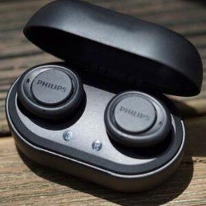 Fone de Ouvido Bluetooth Philips Intra-auricular com Microfone Preto