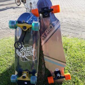 Skate Longboard Urban Sand Rodas de Polímero e Truck em Alumínio – Atrio
