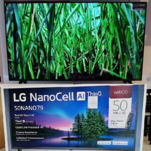 "Smart TV 4K UHD NanoCell 50"" LG Wi-Fi Bluetooth Inteligência"