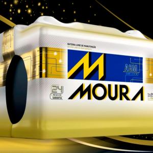 Bateria Automotiva Moura 70AH M70KD MGE