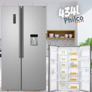Geladeira/Refrigerador Philco Frost Free Side by Side 434L – 110v/220v
