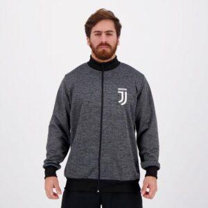 Jaqueta Juventus Chumbo Mescla Spr – Tam. P/M/G/GG