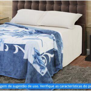 Cobertor Casal Jolitex Microfibra Kyor Plus Malbec – Varias cores