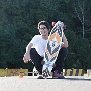 Skate Longboard 96,5cm X 20cm X 11,5cm Maori Mor
