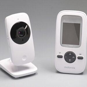 "Babá Eletrônica Motorola MBP481 Tela 2"" Alcance até 300m Zoom Digital Microfone Alta Sensibilidade"