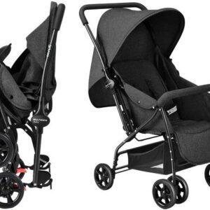 Carrinho de Bebê Multikids Baby Travel System Max até 15kg Função berço, reversível e reclinável