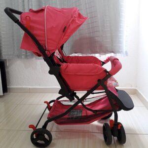 Carrinho de Bebê Stillo Supremo Rosa – 0 a 15kg