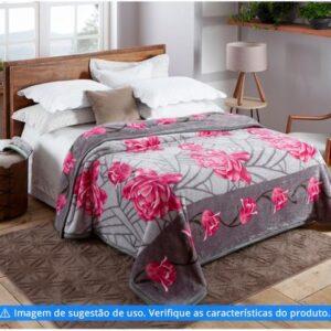 Cobertor Casal Jolitex Microfibra 100% Poliéster – Dyuri Mississipi – Varias estampas