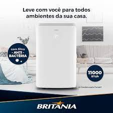 Ar-condicionado Portátil Britânia 11.000 BTUs Frio – 110v/220v