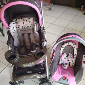 Carrinho de Bebê Travel System Reverse Cosco com Bebê Conforto – 0 a 15kg