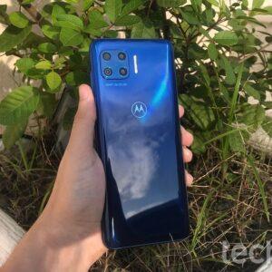 "Smartphone Motorola Moto G 5G Plus 128GB – Lilás Prisma 8GB RAM Tela 6,7"" Câm. Quádrupla"