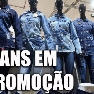 Seleção de Jaquetas Jeans Masculinas e Femininas