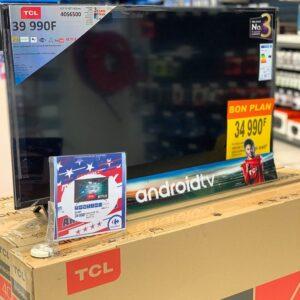 "Smart TV LED 40"" TCL Full HD Android TV- Wi-Fi HDR Inteligência Artificial HDMI USB Comando de Voz"