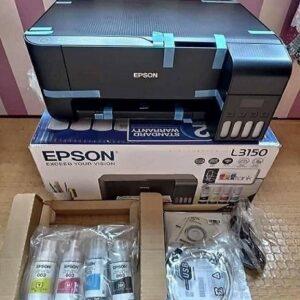 Impressora Multifuncional Epson EcoTank L3150 Tanque de Tinta Wi-Fi Colorida USB – Bivolt