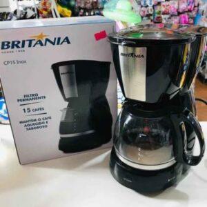 Cafeteira Elétrica Britânia CP15 15 Cafés Preto – 110v/220v