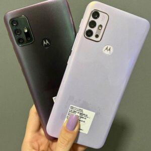 "Smartphone Motorola Moto G30 128GB Dark Prism 4G – 4GB RAM Tela 6,5"" Câm. Quádrupla + Selfie 13MP"