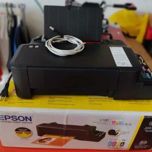 Impressora Epson Ecotank L120 Tanque de Tinta Colorida Cabo USB – Bivolt