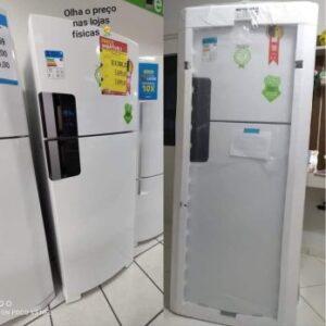 Geladeira/Refrigerador Consul Frost Free – Duplex Branco 410L CRM50HB – 110v/220v