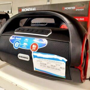 Caixa de Som Mondial Monster Sound II SK-07 Portátil Bluetooth 60W USB