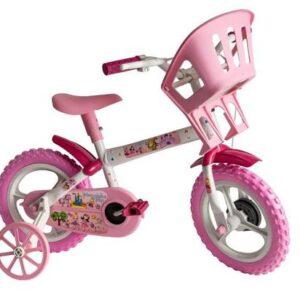 Bicicleta Infantil Princesinhas Aro 12 – Styll Kids