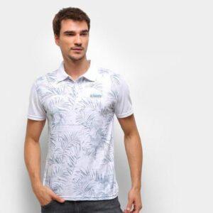 Camisa Polo Ultimato Meia Malha Estampada Masculina – ...