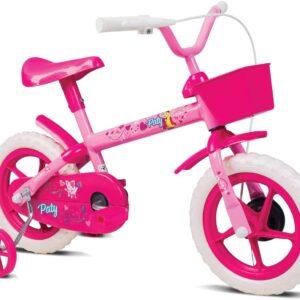 Bicicleta Infantil Verden Paty Aro 12 com cestinha e rodinhas