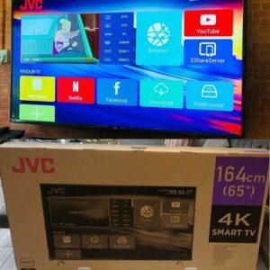 """Smart TV 4K HQLED 65"""" JVC LT-65MB708 Android – Wi-Fi Bluetooth HDR 4 HDMI 3 USB"""