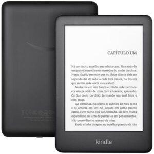 """Kindle 10ª Geração Tela 6"""" 8GB Wi-Fi Luz Embutida – Preto"""